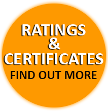 Ratings & Certificates - Find out more
