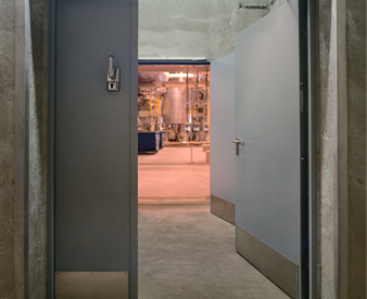 Acoustic Steel Doorsets from Teckuntrup