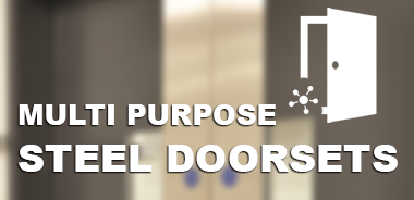 Multi-purpose steel doorsets from Samson