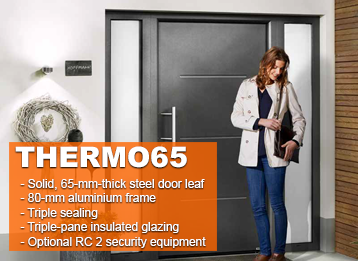 Hormann Thermo65 Entrance Doors