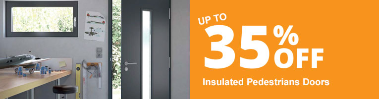 up to 35% off Side Hinged and pedestrian Doors