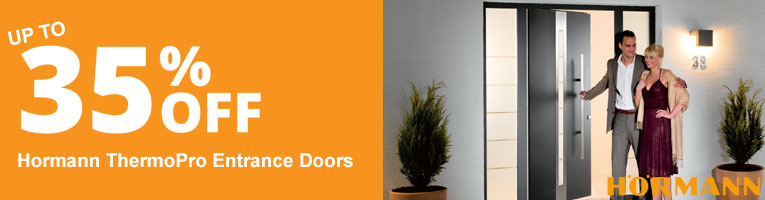 Up to 35% off Hormann ThermoPro Entrance Doors