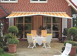 markilux 1600 pavilion awning for rain and sun