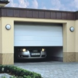 Carteck steel sectional garage door