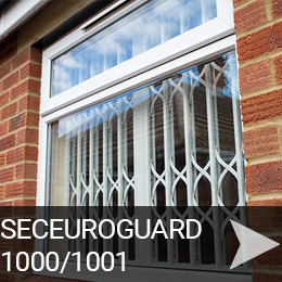 SeceuroGuard 1000 and 1001 Secured by Design Retractable Grilles