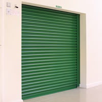 seceuroshield 7500 steel roller shutter model in green