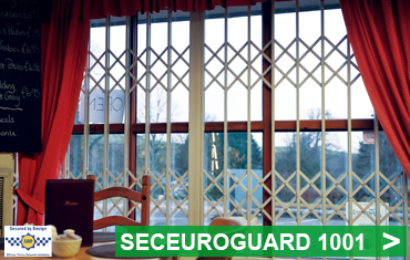 SeceuroGuard 1001 Secured by Design Retractable Security Grilles