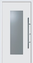 hormann front modern door with a range of different handles