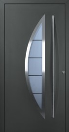 crescent home front door in anthracite black