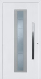hormann front entrance door style 700 with bevelled cut glass