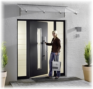 Entrance Doors With Side Lights