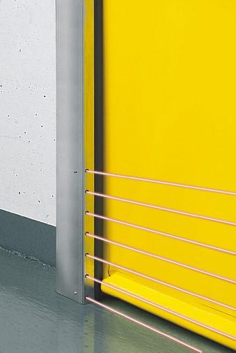 Hormann V 2715 SE R with a light sensor installed in the door guide