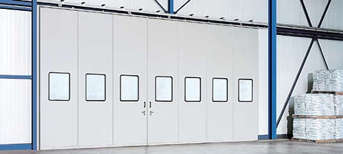 insulated double sliding door set