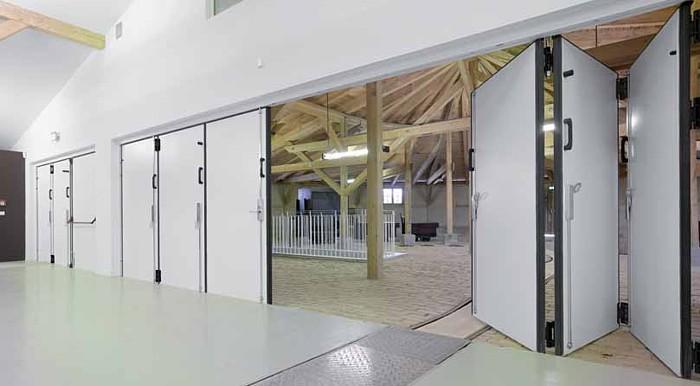 Hormann Fpu Folding Doors Available From Samson Doors Uk