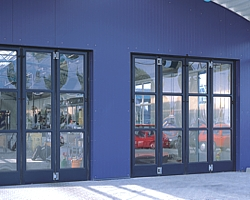 large glazed 4 leaf folding door sets