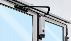 folding door electric operation system