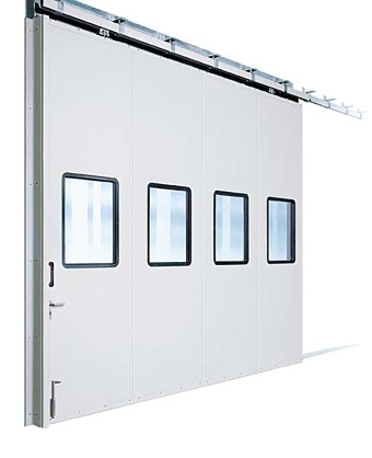 KSP sliding metal door system with double glazed units