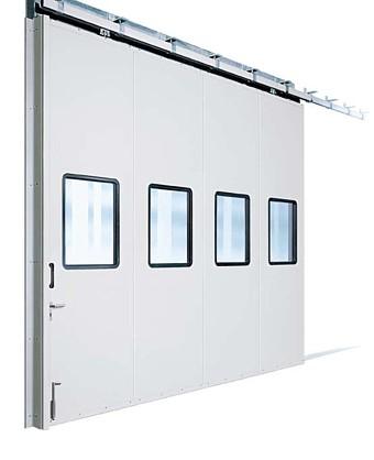 KSP sliding metal door system with double glazed units
