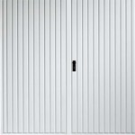 garador carlton steel side hinged garage door for the home