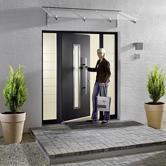 Hormann TOP Aluminium Entrance Doors - Hormann Entrance Doors Online on