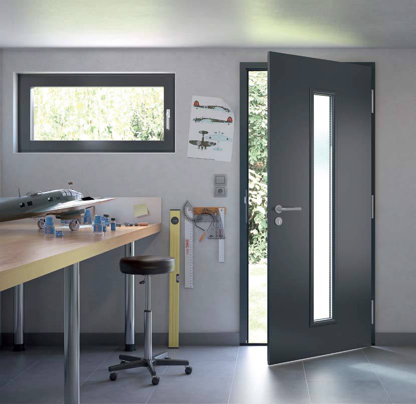 Hormann general purpose steel hinged doors