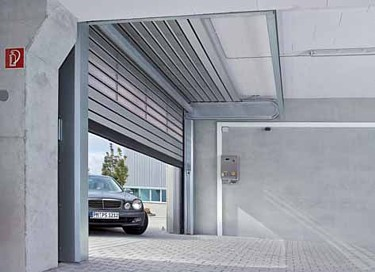 hormann aluminium hss6530 spiral roller door low headroom roller spiral door