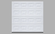 Buy Garador Georgian Small Sectional Garage Doors Online