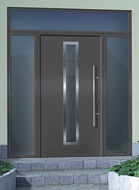Hormann Thermopro Steel Front Entrance Doors Entrance