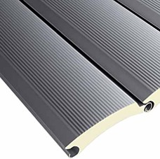 insulated roller shutter door lath section