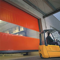 high wind rated speed doors