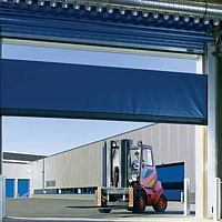 The Hormann V6030 high speed curtain door