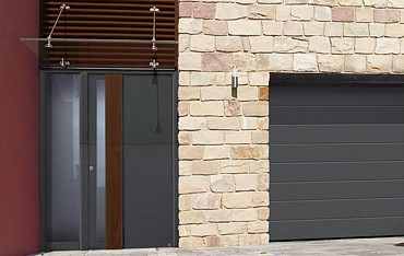 Matching Entrance And Garage Doors Samson Doors Uk