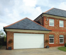 sectional garage doors for stylish homes