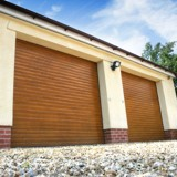 Roller shutter door for warehouse application