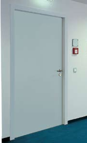 HBS60 and HBS120 fire-rated secure high-quality hinged steel door set