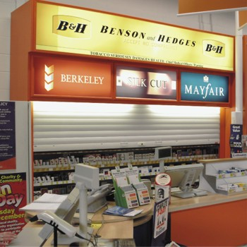 security shutters for kiosks, bars and serving hatches