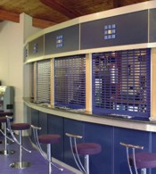 seceurovision 3800 punched purple bar installation
