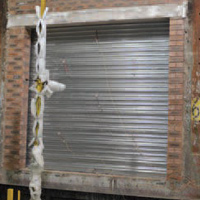 steel fire roller shutter