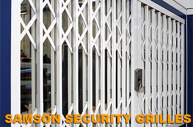 samson security grilles