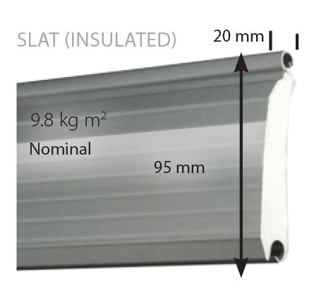 double skin steel roller shutter
