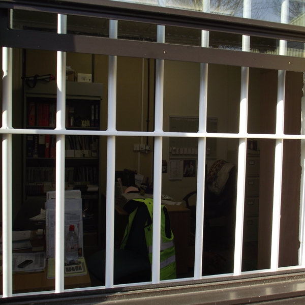 Security Window Bars Available From Samson Doors Uk
