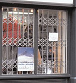 seceuroguard1000 security grilles for retail premises