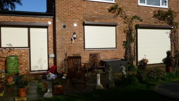 security shutter protection closed home