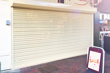 Security Shutters for Shop Entrance
