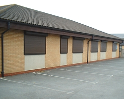 electric operated security shutters