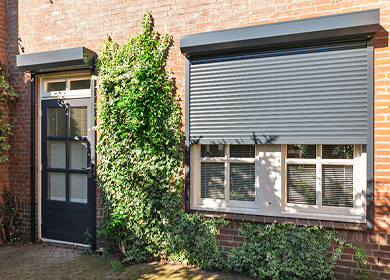 Domestic Security Shutters, SWS Security Roller Shutters & Grilles from Samson Doors UK