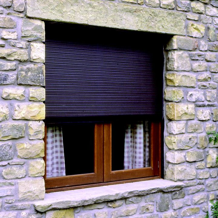 discreet built in security shutters for windows