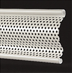 perforated steel lath section
