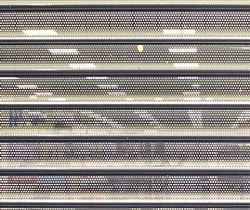perforated             shutter type 7500