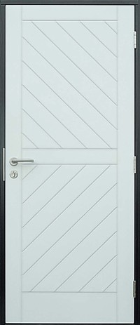 security steel doorset for garages and general home use
